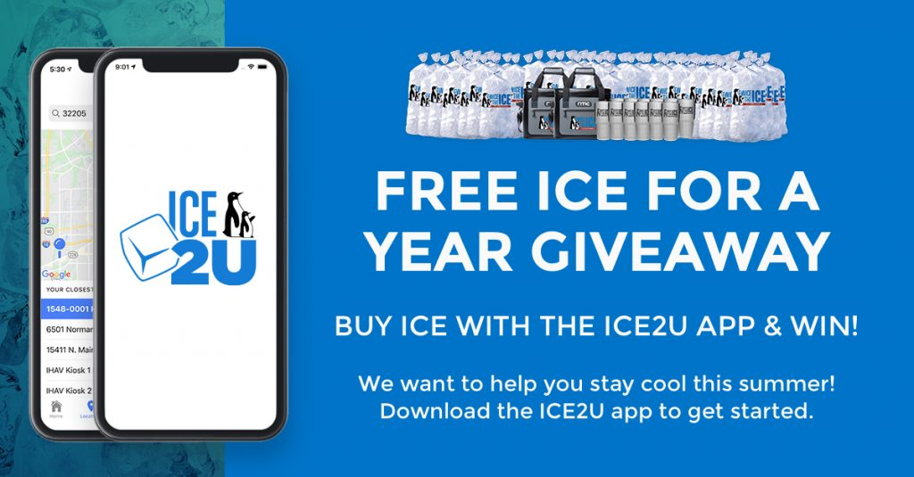free ice for a year