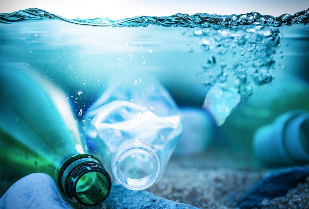 plastic bottles water